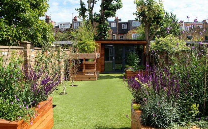 Garden office for family garden